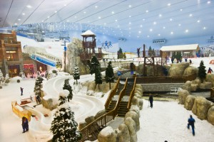 Ski Dubai in the Mall of Emirates