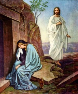 Mary Weeping at the Tomb John 20:11-14