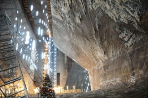 ROMANIA-TURDA-SALT MINE