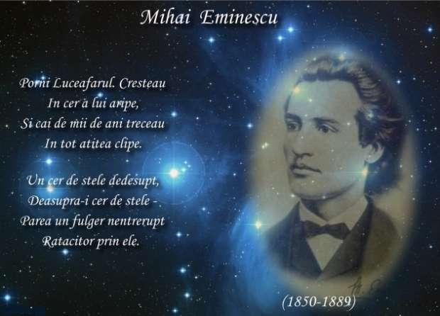 citate despre luceafarul Mihai Eminescu Eu nu cred nici in Iehova citate despre luceafarul